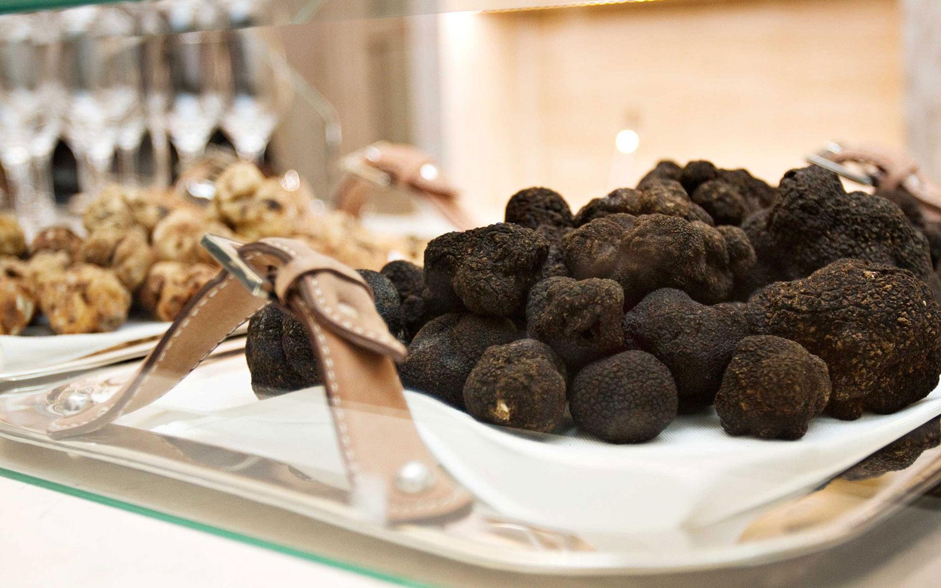 Köstliche Trüffel-Kreationen<br>von Savini Tartufi